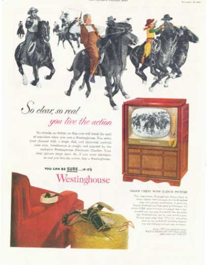Westinghouse Television Tv Console (1952)