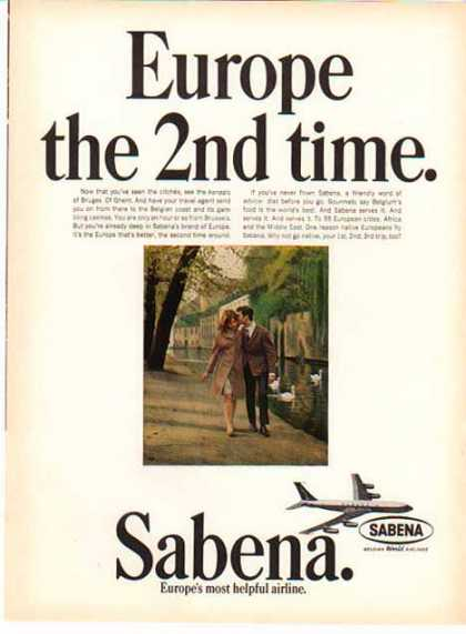 Sabena Airlines – Belgian World Airlines (1967)
