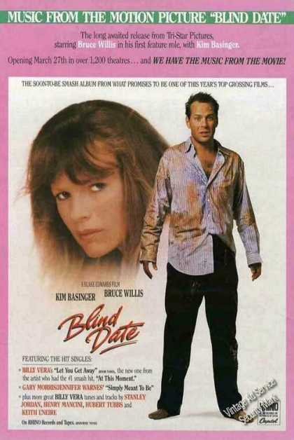 """""""Blind Date"""" Collectible Movie (1987)"""