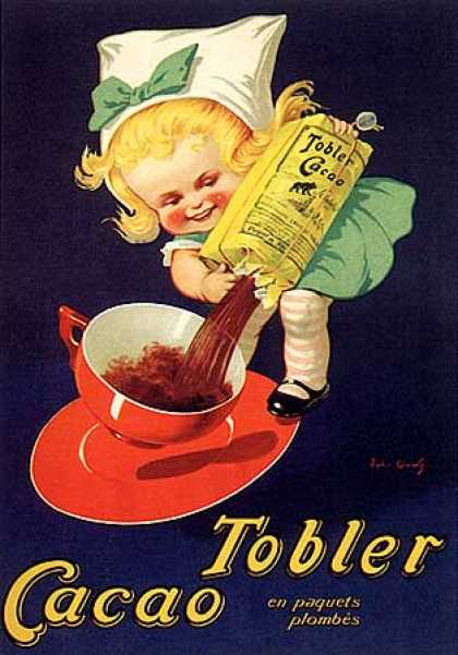 Cacao Tobler by John Onwy (1920)
