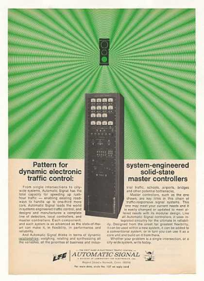 Automatic Signal Traffic Master Controller (1969)