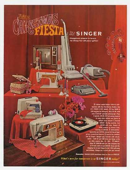 Singer Christmas Fiesta Home Appliances Holiday (1967)