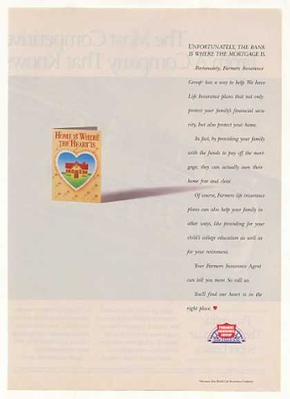 Home is Where Heart Is Farmers Insurance Group (1992)