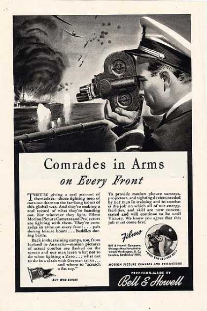 Bell & Howell's Filmo Motion Picture Cameras and Projectors (1943)