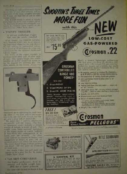 FN Deluxe Mauser Rifle AND Ithaca Gun Co Featherlight (1956)