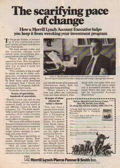 Merrill Lynch – Scarifying Pace for Change – Sold (1975)