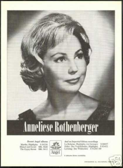 Anneliese Rothenberger Photo Vintage Record (1965)