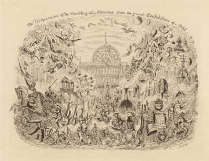 The Dispersion of the Works of All Nations from the Great Exhibition of (1851)