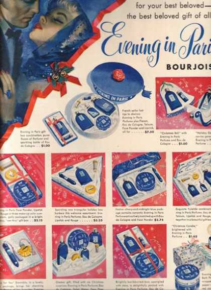 """Evening in Pari's """"For your best beloved – the best beloved gift of all..."""" (1950)"""