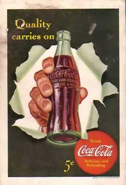 Coke Quality Carries On (1942)