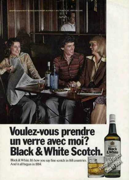 """Black & White """"It's How You Say Scotch"""" (1976)"""