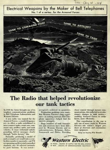 Western Electric's Radio – The Radio that helped revolutionize our tank tactics. (1944)