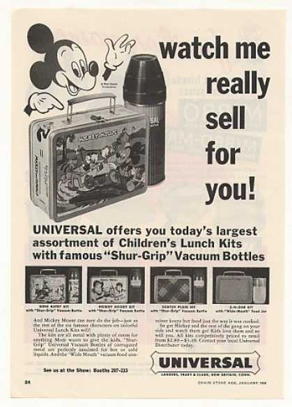 Mickey Mouse Universal Lunch Kit (1956)