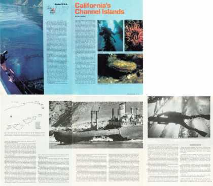 '76 California Channel Islands Diving Article T (1976)