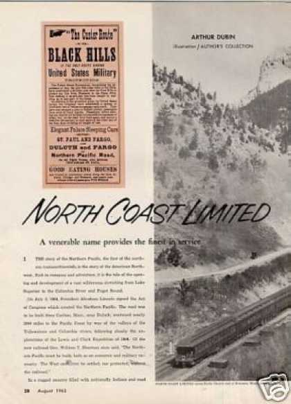 """""""North Coast Limited"""" Article/norther (1963)"""
