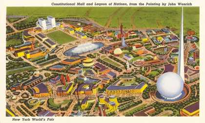 Overview of New York World's Fair (1939)