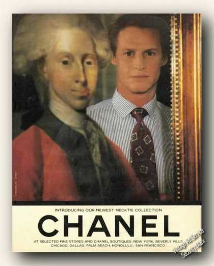 Introducing Chanel Newest Necktie Collection (1989)
