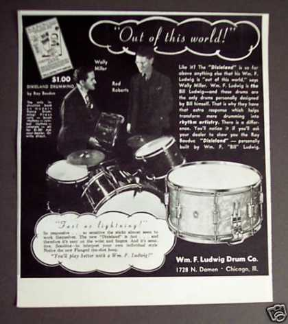 Wfl Ludwig Dixieland Drums (1938)