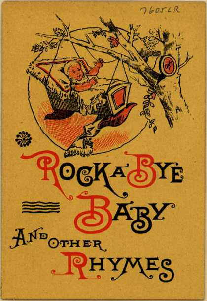 Clark's O.N.T. Spool Cotton's spool cotton – Rock a Bye Baby and Other Rhymes