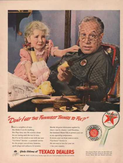 Texaco Dealer Funniest Things To Fix (1942)