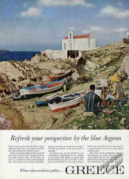 Refresh Your Perspective By Blue Aegean Greece (1963)