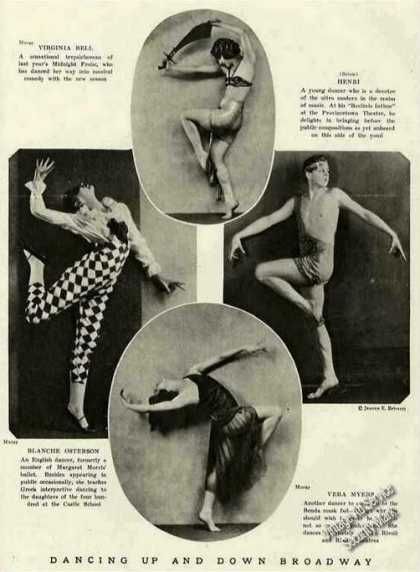 Dancing Up & Down Broadway Antique Photos Feature (1921)