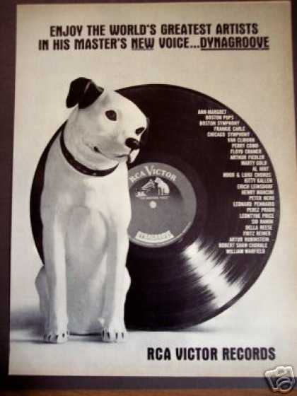 Rca Victor Records Masters New Voice Dynagroove (1963)
