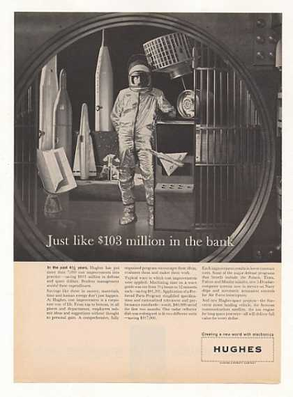 Hughes Cost Savings Missiles Space Bank Vault (1961)