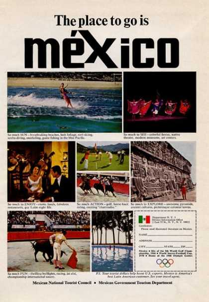 Mexico the Place To Go... (1965)