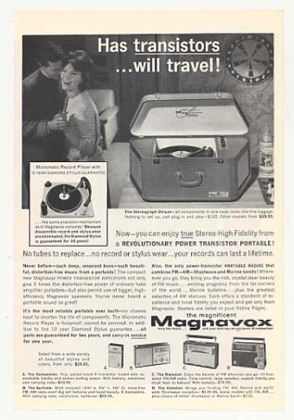Magnavox Stereograph Deluxe Portable Phonograph (1962)