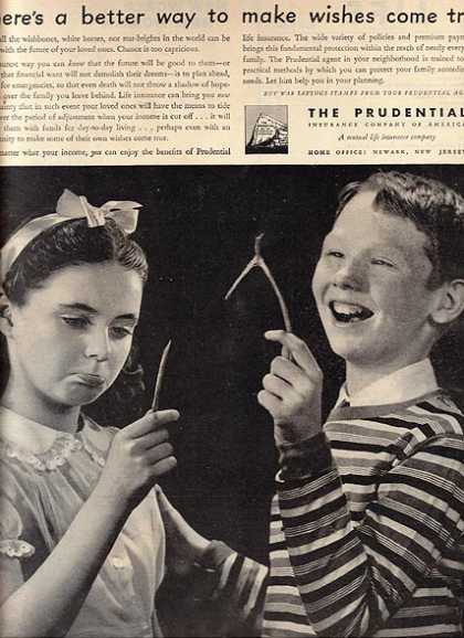 Prudential's Life Insurance (1944)