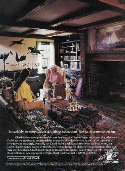 Insure Your World Wth Chubb Private Collections (1992)