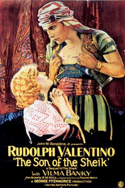 The Son Of The Sheik, Rudolph Valentino, USA (1926)