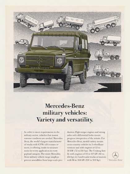 Mercedes-Benz Cross-Country Military Vehicle (1990)