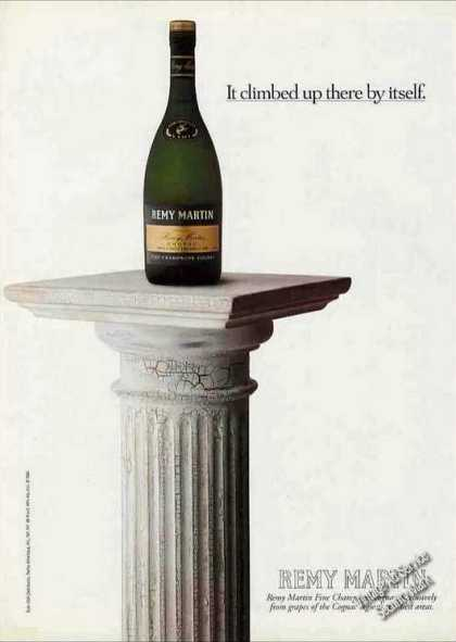 """Remy Martin Champagne """"Climbed There By Itself"""" (1994)"""
