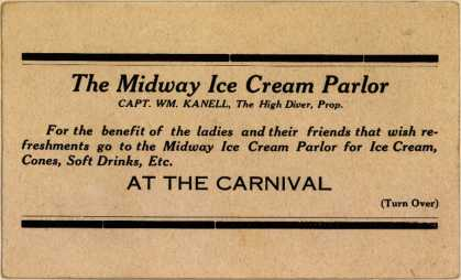 Midway Ice Cream Parlor's Ice cream – Sure Cure for Love