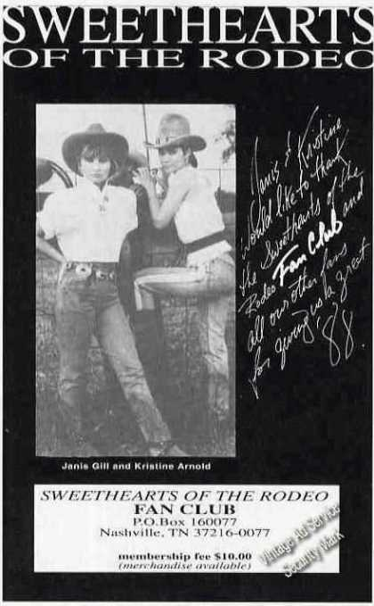 Janis Gill & Kristine Arnold Rodeo Sweethearts (1988)
