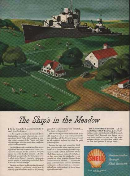 Ships In the Meadow Shell Research (1946)