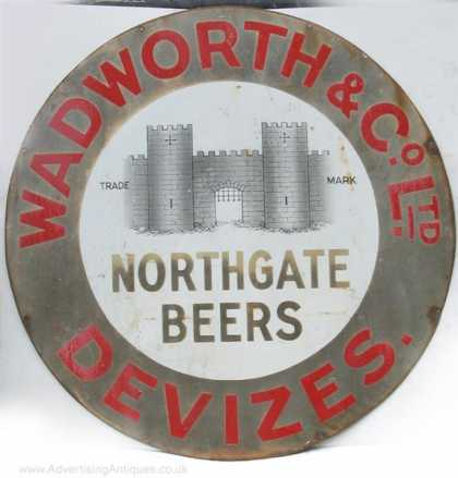 Wadworth & Co Northgate Beers Devizes