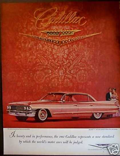 Long Pink Cadillac for 1961 Classic Car Photo (1960)