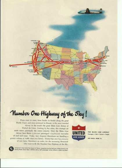 Number One Highway of the Sky United (1946)