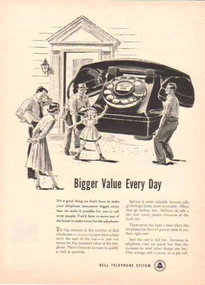 Bell Telephone System – Bigger Value Every Day (1949)