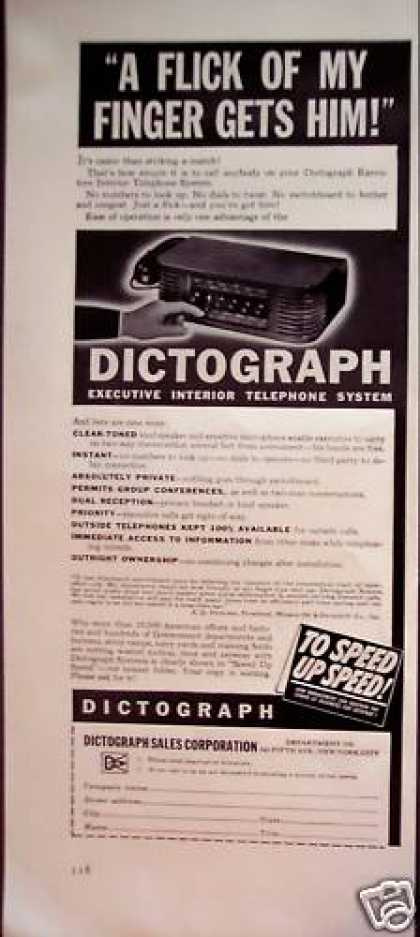 Dictograph Telephone System (1942)