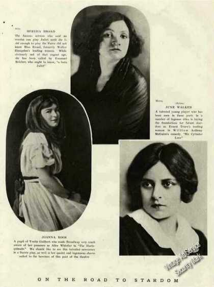 """""""On the Road To Stardom"""" Young Actresses Feature (1921)"""