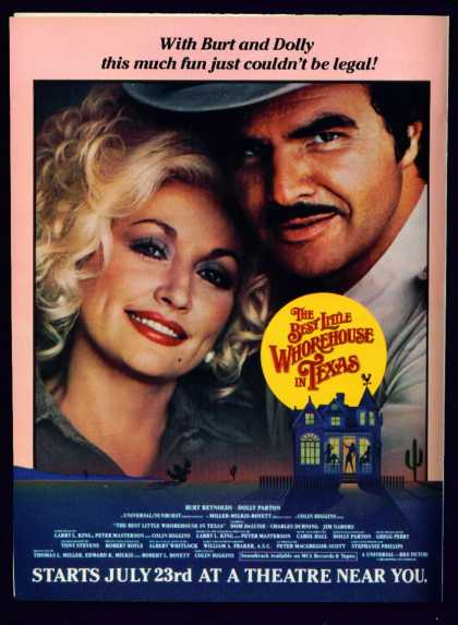 The Best Little Whorehouse In Texas Ad Burt Dolly (1982)