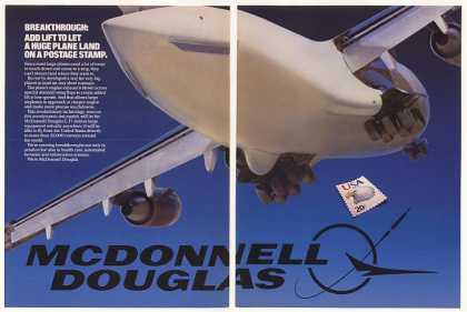 McDonnell Douglas Test Aircraft Wing Flaps 2-Pg (1984)