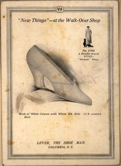Lever, The Shoe Man's Lever – New Things...at the Walkover Shop