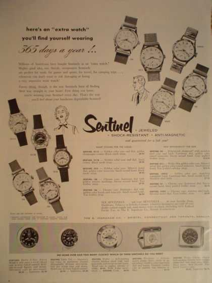 Sentinel Watches 365 days a year (1955)