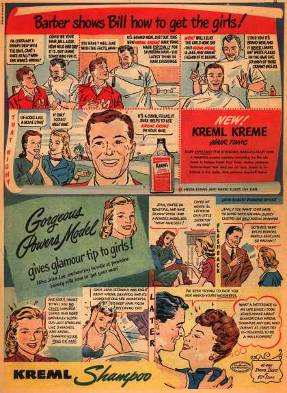 Kreml's shampoo – Barber shows Bill how to get the girls (1948)