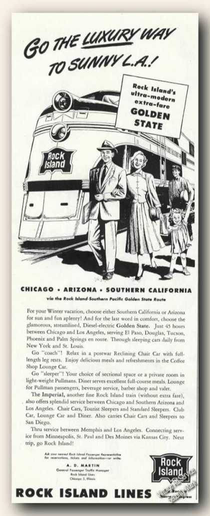 Rock Island Lines To Sunny L.a. (1948)